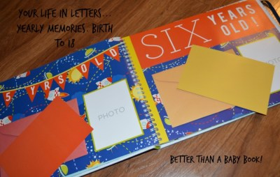 Your Life In Letters Helps Capture Baby's Memories One Letter At A Time!