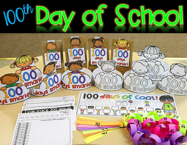 100th Day of School Counting, Estimation, App, and MORE! \u2022 The