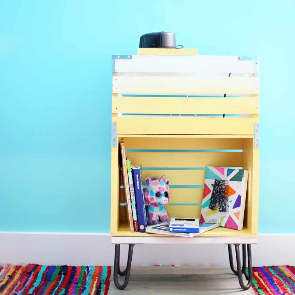 Diy Bedside Table 20 Diy Budget Bedside Table Ideas The Kindest Way