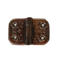 Victorian Flush Mount Aged Bronze Finish Small Flap Hinge ...