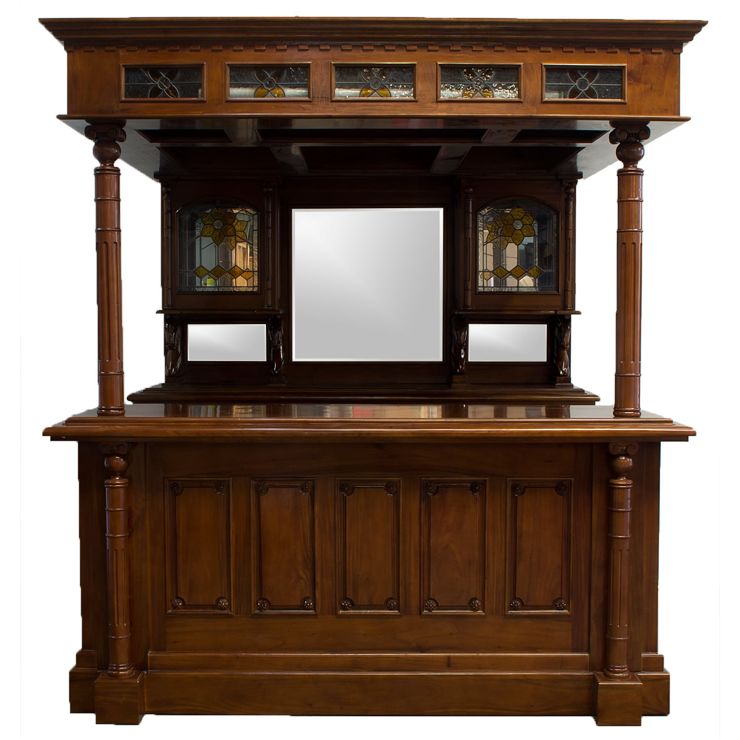 Home Bar Furniture English Or Dublin Irish Canopy Home Bar Tavern Old Antiique Style Pub Counter