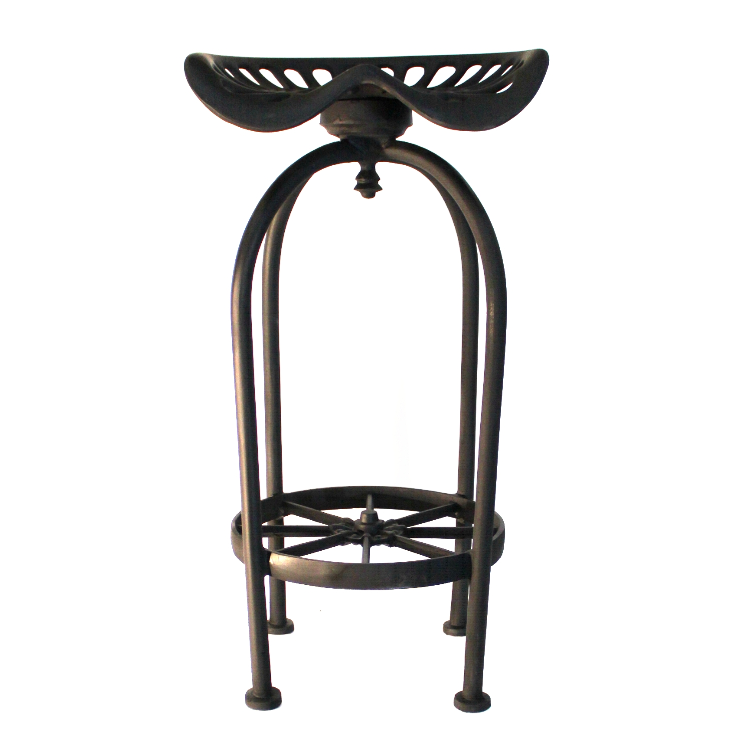 Bar Stool Chairs Pair Of Tractor Bar Stools Best Seating With Foot Rest Aluminum Wagon Wheel