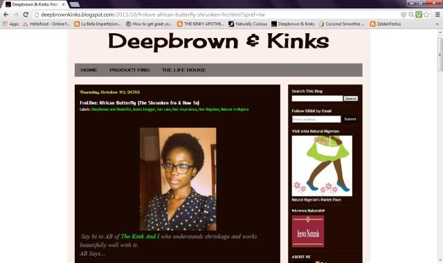 Deep brown & kinks