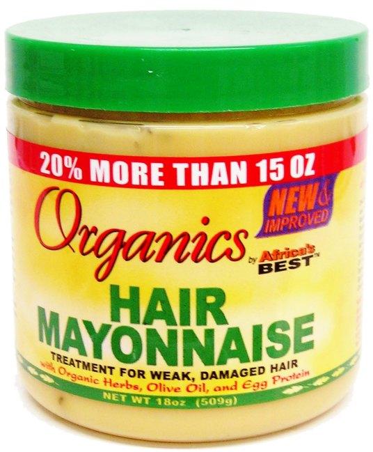 Natural Hair- Product Review- Organics Hair Mayonnaise