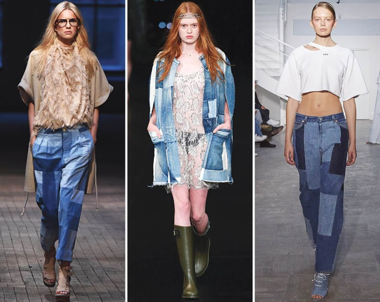 Patchwork Denim Trend 2016