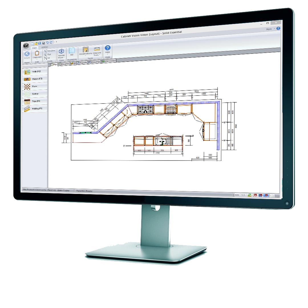 Kitchen Design Software B Andq The Importance Of Cad Software The Kitchen And Bathroom Blog