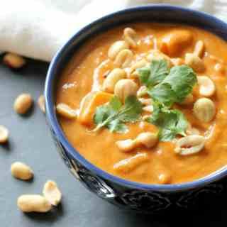 Peanut Sweet Potato Soup