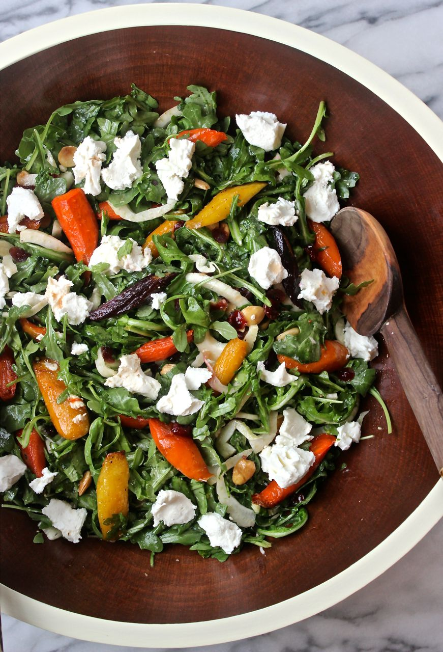 Maple Roasted Carrot Salad The Kitchen Scout