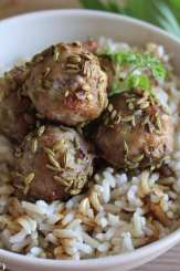 Clean Eating Fennel & Garlic Meatballs