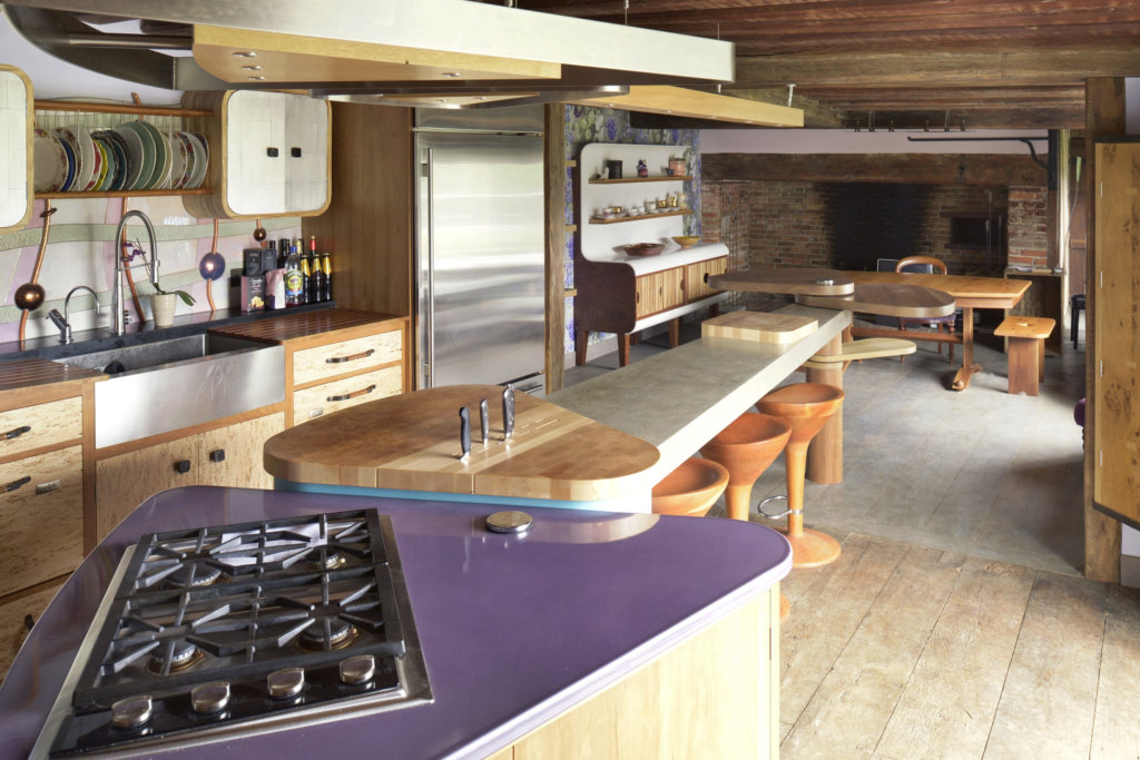 Kitchen Designer Johnny Grey Contemporary Bespoke Kitchen For A Listed Building By