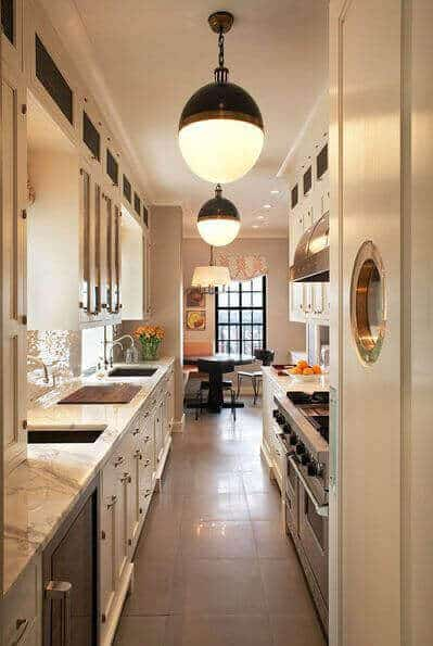 Functional Kitchen Island Designs 33 Long Narrow Kitchen Layout Suggestions