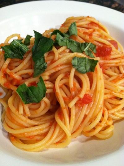 Spaghetti Alla Rustica - thekittchen