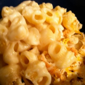 Low Fat Baked Macaroni and Cheese