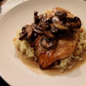 Sherry Mushroom Chicken