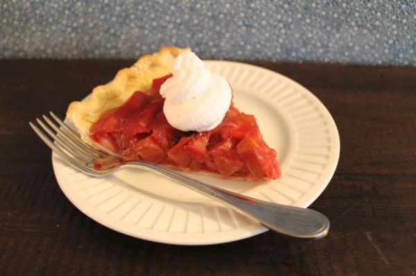 Strawberry Rhubarb Pie 2
