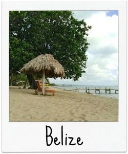 Belize Polaroid