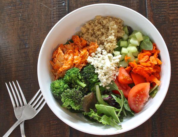 Buffalo Chicken Quinoa Salad