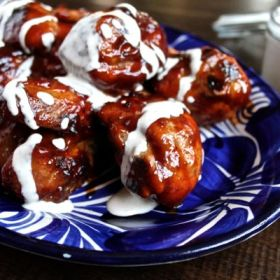 Chicken Wings with Alabama Barbecue Sauce