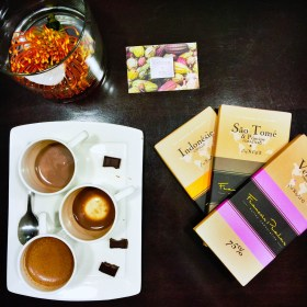 Chocolate Tastings and Hot Cocoa Flights at Cocoa + Co. with Gilt City
