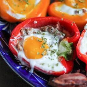Breakfast Stuffed Peppers