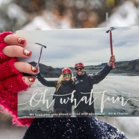 Christmas in Maine and my Minted Holiday Cards