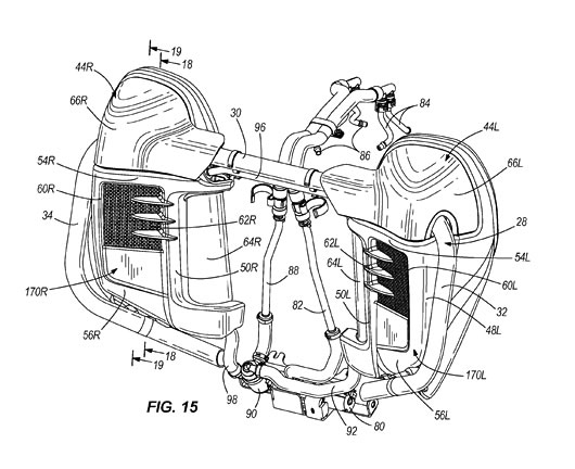 1100 Ford Tractor Wiring Diagram Harley Davidson Water Cooled Heads Patent Updated