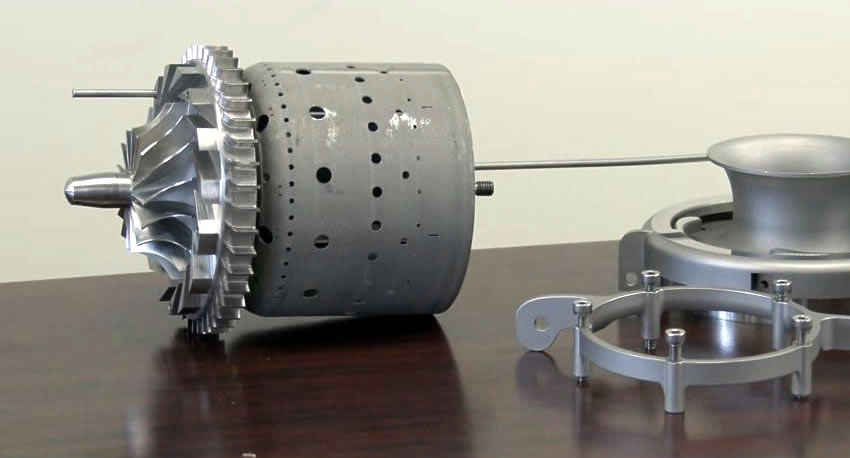 3D Printing Functional Jet Engines