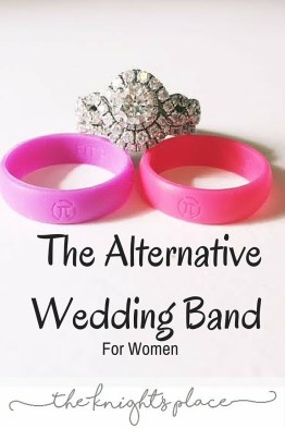 The alternative wedding bands for women