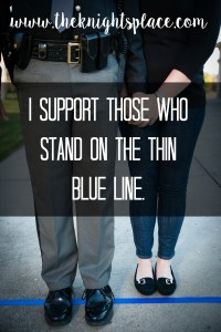 support thin blue line