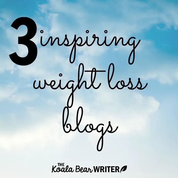 3 inspiring weight loss blogs