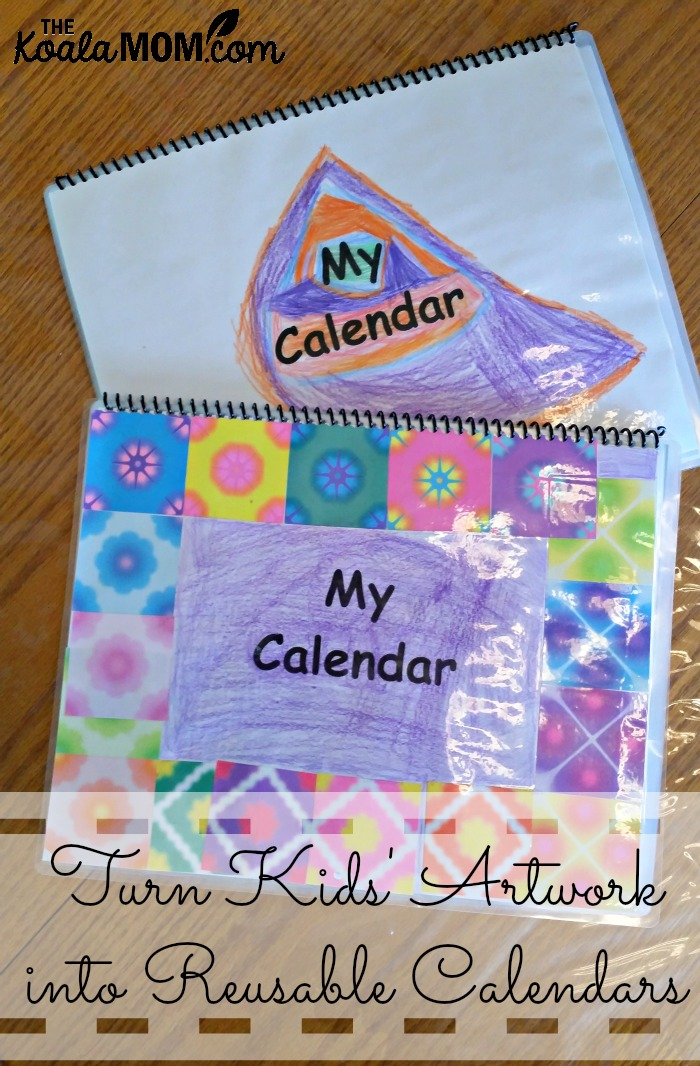 Turn Kids\u0027 Artwork into Reusable Calendars
