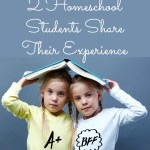 Two Homeschool Students Share Their Experience