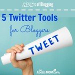 5 Twitter Tools for Bloggers