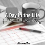 A Day in the Life of a Homeschool Mom Blogger