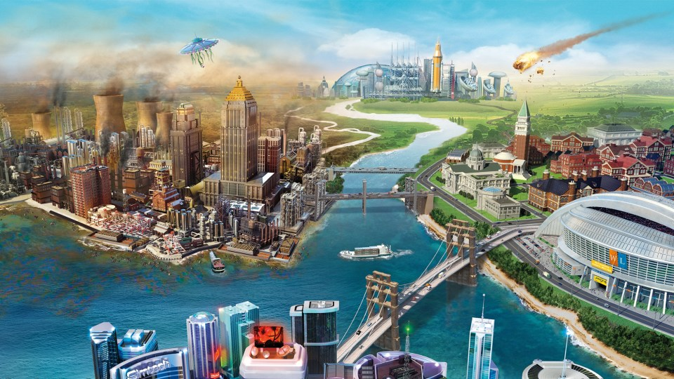 EA Causes A Natural Disaster In SimCity With Botched Launch