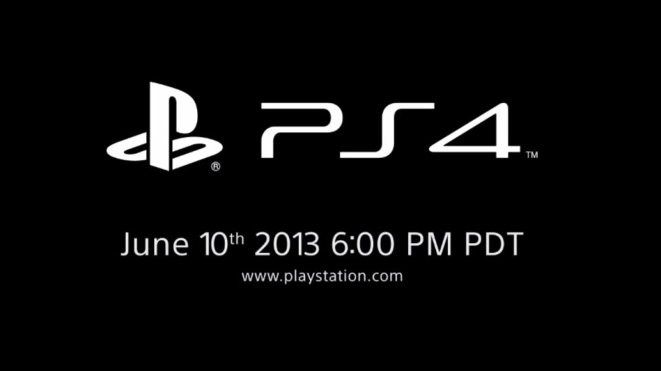 Sony Teases Playstation 4 Console 24 Hours Before Next-Gen Xbox Reveal.