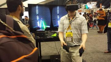 GDC 2015 Sixense Star Wars 2