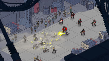 Bedlam - Announcement Screenshot 3 - Cyborg
