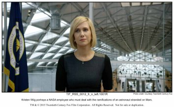Kristen Wiig portrays a NASA employee who must deal with the ramifications of an astronaut stranded on Mars.