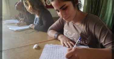 kurdish language in rojava
