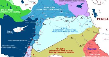 dr michael merhdad izady sykes picot kurdish map