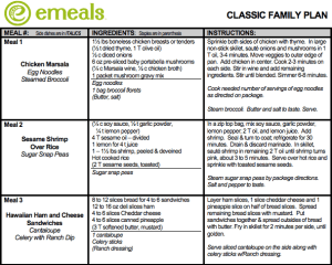 emeals-classic-meal-plan