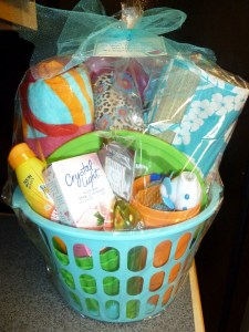 Spring Break Basket