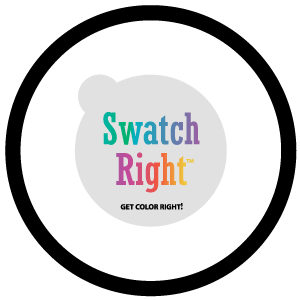SWATCH-RIGHT COLOR SAMPLE DECALS
