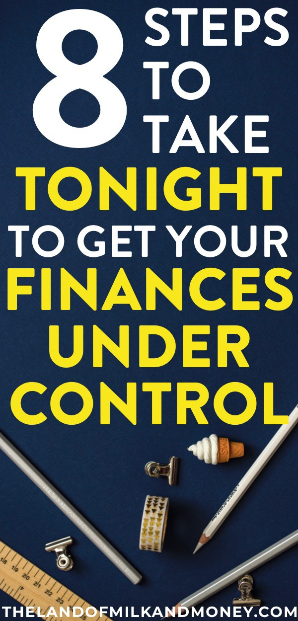 8 Easy Money Management Steps To Improve Your Finances Tonight