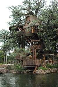 Tarzan's Treehouse at Hong Kong Disneyland