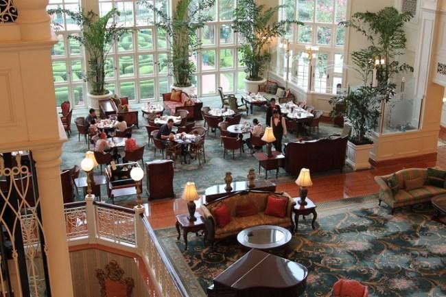 Grand Salon at the Hong Kong Disneyland Hotel