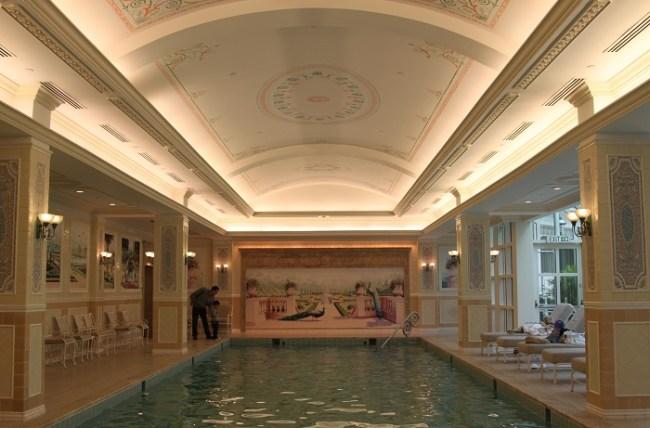 Indoor Pool at Hong Kong Disneyland Hotel
