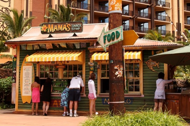 Mama's Snack Stop at Aulani