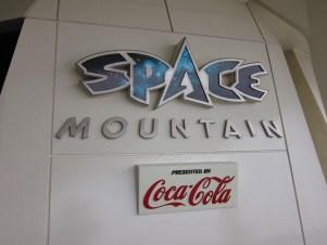Space Mountain Sign at Tokyo Disneyland